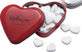 L'objet publicitaire Boîte en forme de coeur