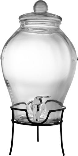 L'objet publicitaire Distributeur de boisson en verre