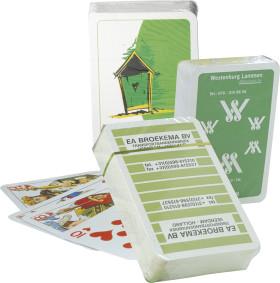 L'objet publicitaire Jeux de cartes classiques sous cellophane