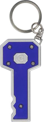 L'objet publicitaire Porte-clés Key avec petite lampe
