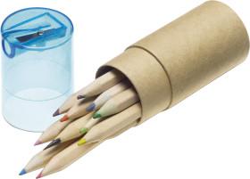 L'objet publicitaire Ensemble de crayons de couleurs