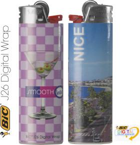 L'objet publicitaire Briquet Maxi Digital Wrap de Bic