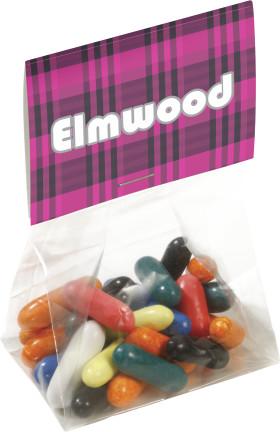 L'objet publicitaire Sachet de boules de chewing gums