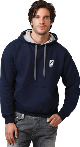 L'objet publicitaire Gildan Contrasted Hooded sweatshirt