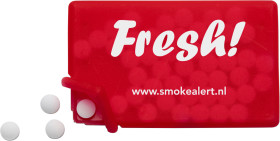 L'objet publicitaire Mintcard avec pastille de menthe sans sucre
