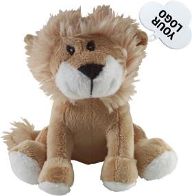 L'objet publicitaire Lion en peluche