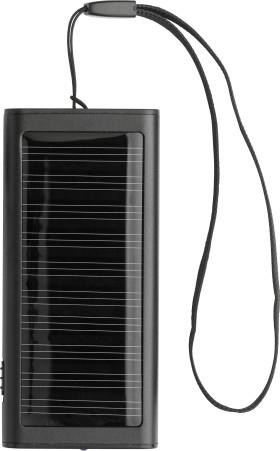 L'objet publicitaire Chargeur Solar Duo