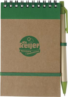 L'objet publicitaire Promo Carnet de notes Recycle