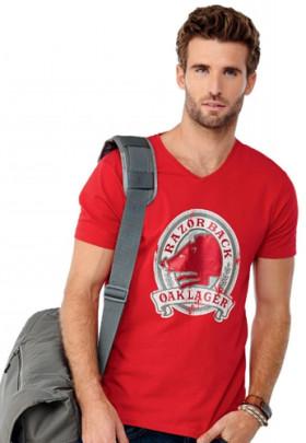 L'objet publicitaire T-shirt encolure en V de Kawarta