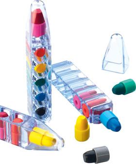 L'objet publicitaire Ensemble de 6 crayons Magic