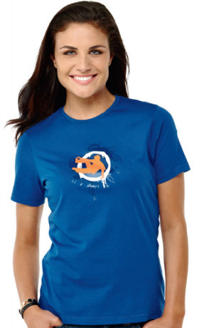 L'objet publicitaire T-shirt dame Elevate Namaimo