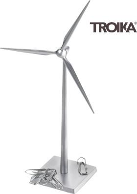 L'objet publicitaire Support de trombones Troika Moulin à vent