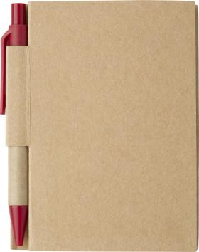 L'objet publicitaire Carnet de notes Eco avec stylo