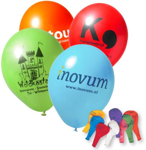 Imprimer l'objet publicitaire Ballons