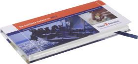 L'objet publicitaire Agenda de poche pointer imprimé pleine couleur personnalisé