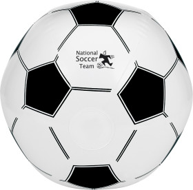 L'objet publicitaire Ballon de plage Soccer