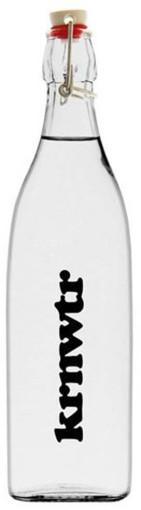 L'objet publicitaire Bouteille à bouchon à étrier KRNWTR 1 litre